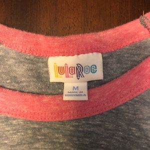 LuLaRoe baseball shirt